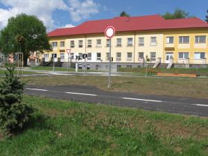 Dopravní hřiště za MŠ