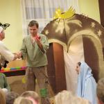 Pastýři přinášejí dary Ježíškovi