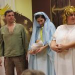 Josef s Marií, Ježíškem a s andělem