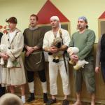 Pastýři s hostinskými a s vypravěčkou