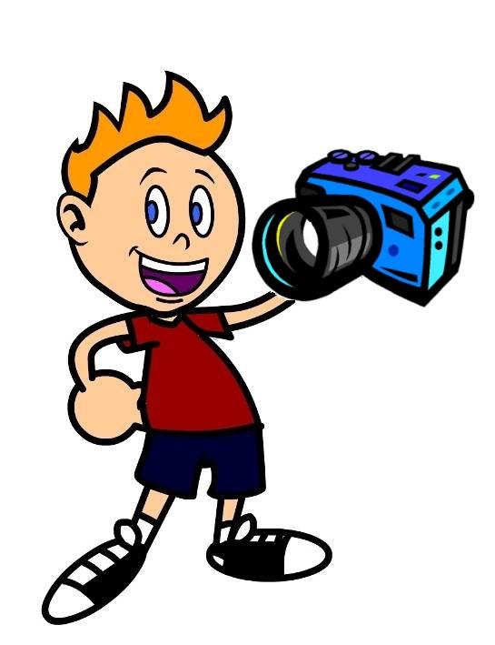 Výsledek obrázku pro kreslený obrázek fotografa